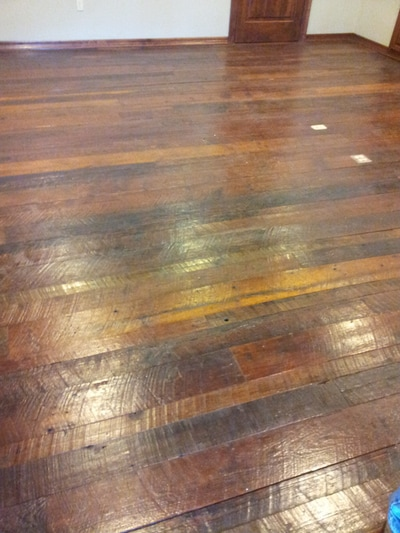 reclaimed longleaf pine flooring