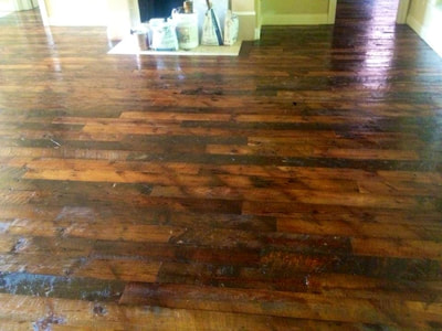 heart pine hardwood flooring