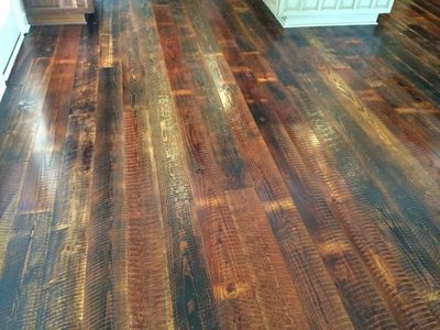 hard pine wood flooring