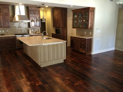 wide plank pine flooring cost