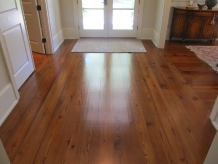 Reclaimed Long Leaf Heart Pone Flooring