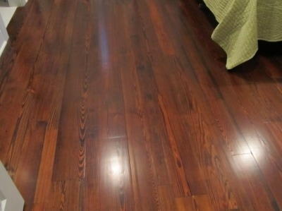 Reclaimed Antique Heart Pine Wood Flooring