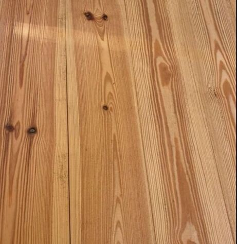 Old Growth Heart Pine Clean Face Unfinished Flooring