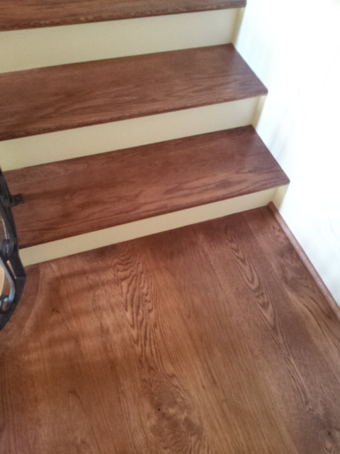 Reclaimed White Oak Clean Face Wide Plank Hardwood Flooring Clear Oil Finish