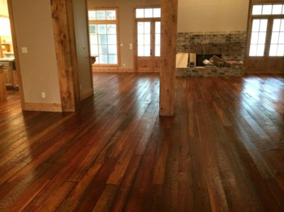 Reclaimed Solid Long Leaf Heart Pine Flooring